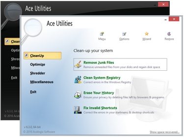 Ace Utilities - Clean up and Optimize your Computer